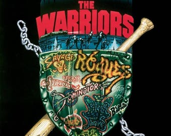 ON SALE NOW: The Warriors Movie Poster Rare New York City