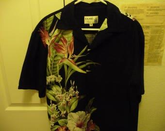 Vintage Iolani Made in Hawaii Aloha Shirt Men's M very nice hawaiian shirt
