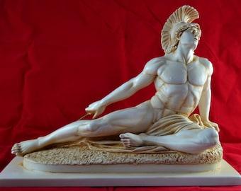 Achilles greek statue figure BIG SIZE  12.5 x 17,5 inch Greek Sculpture Mythology