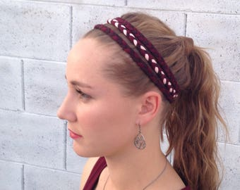 Braided Headband - Headbands - Comfortable Headband - Streatchy Headband - Headbands for Woman - Headbands for Girls - Cute Headband