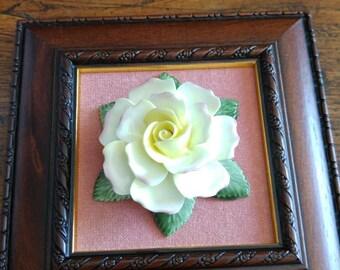 Fine English bone china flower hand made hand painted