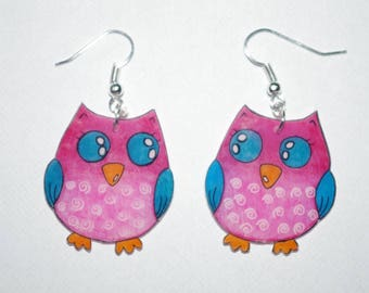 pretty owls earrings