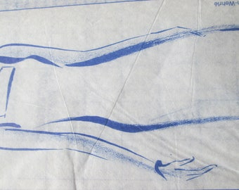 Patterns and an evening dress pattern wrapped on strapless diagram and the table