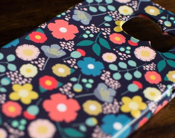 Vintage Floral Phone Case | Fits the Samsung Galaxy S6