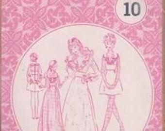 PATTERNS PACIFIC Size 6 Ruffled Bodice Dress Vintage Uncut