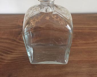 Gold Painted Decanter
