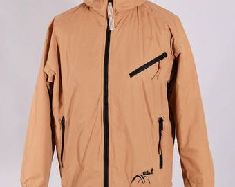 Men's Jack Wolfskin Vintage Winter Hooded Outdoor Jacket Size S Genuine