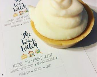 Hansel & Gretel's House Cupcake Wax Tart