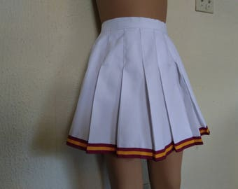 Cheerleader USC Skirt Uniform Football Game Halloween Costume NEW
