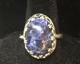Sterling Silver Sodalite Ring