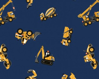 Diggers - Navy, Cotton Lycra Jersey Knit Fabric