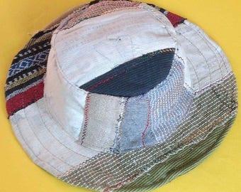 Eco Friendly Bohemain  Pure Hemp Sun Hat