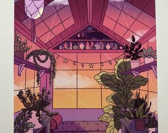 Green House Art Print