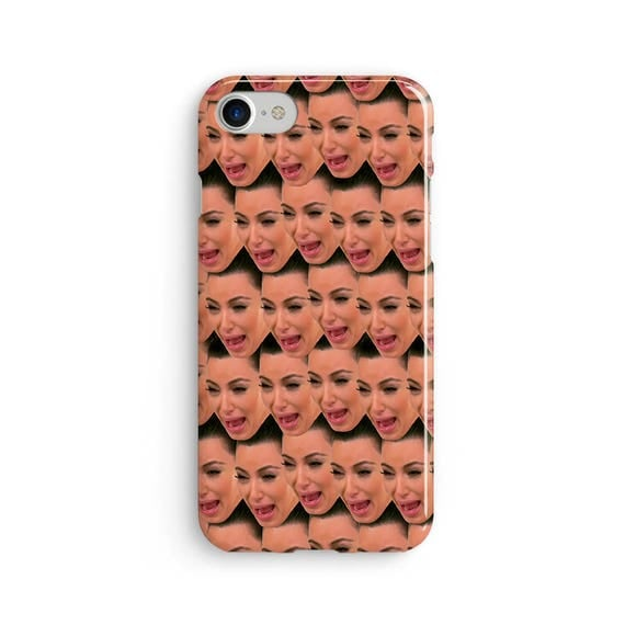 Kim crying face - iPhone 7 case, samsung s7 case, iphone 7 plus case, iphone se case 1P040