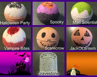 Halloween Bath Bombs