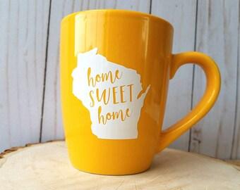 Home Sweet Home WI Mug