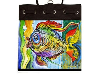 Colorful Fish  Backpack