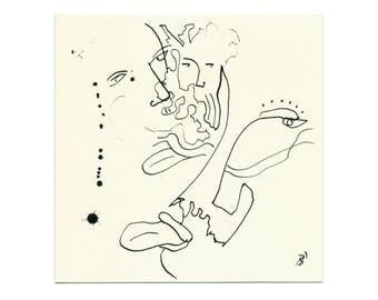 Drawings of original 15/15 cm (5.9/5.9 inch)