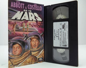 Abbott and Costello Go to Mars VHS Tape