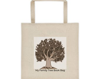 Tote Bag, Family Tree Book Bag