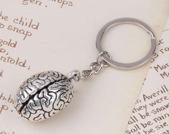 Brain Keychain - One Piece - BULK Quantities Available by Special Order