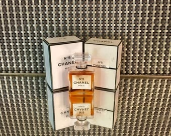 Chanel no 5  Perfume perfume 1/4 oz authentic 90% full