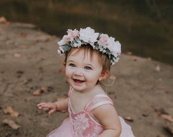 Flower halo / flower crown/ boho / flower crown flowers all the way around / bride / bridesmaide / flower girl