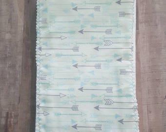 Arrow Burp Cloth
