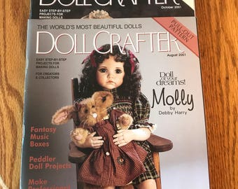 3 Doll Crafter Magazines