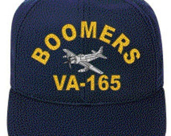 VA-165 BOOMERS A-1 Skyraider Direct Embroidered Cap    New