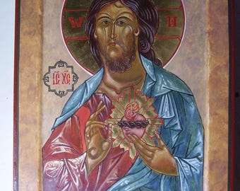 Sacred Heart Icon