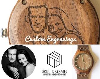 Mens wood watch, Wooden Watch, Wooden Watches, Wood Watch, Husband Gift, Engraved Watch, Mens Watch, mens wooden watch, mens wood watches