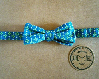 Bow tie adjustable four leaf clover to order