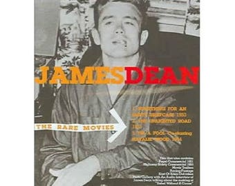 JAMES DEAN The Rare Movies DVD New Sealed Long Out Of Print Rare Hollywood Movie Icon Footage