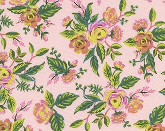 Jardin De Paris Peony from Menagerie by Anna Bond of Rifle Paper Co for Cotton + Steel - 1/2 Yard