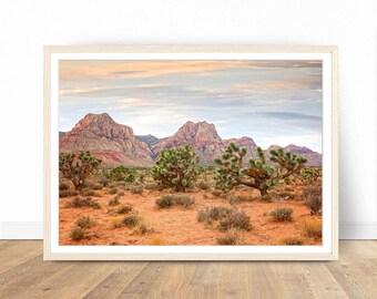 Landscape Print, Nevada Poster, Yoshua Tree Print, Landscape Photography, Photography Prints, Mountains Wall Decor, Printable Wall Art