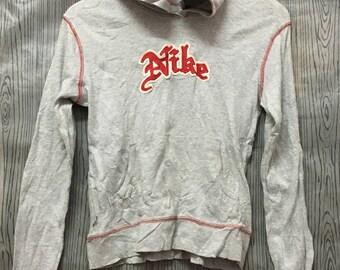 VINTAGE NIKE SWOOSH Big Logo Windbreaker Jacket Sweater Sweatshirts Sportswear Runner
