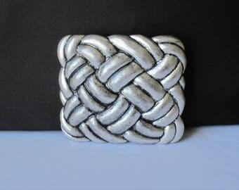 Belt Buckle, Silver Belt Buckle, Women's belt buckle and leather belt, fashion belt