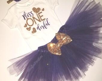 Miss ONEderful tutu set