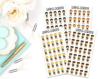 Brownie Scout Planner Stickers