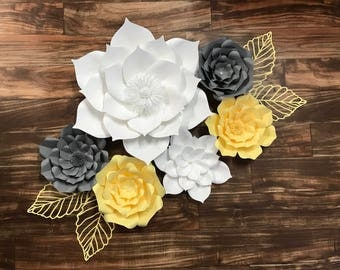 Paper Flower Set of 6