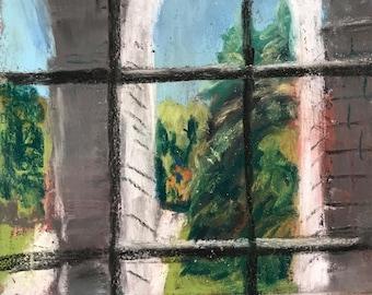 Maine House Window