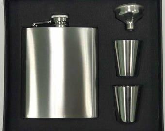 7oz Flask Set