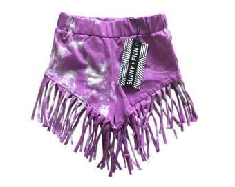 Ziggy Shorts - Purple Smoke