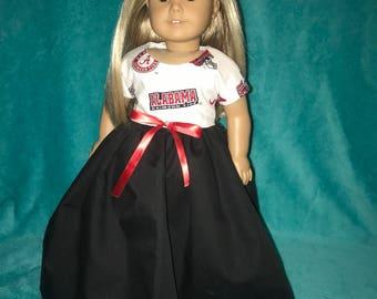 18 inch doll clothes,18 inch doll dress,American Girl doll clothes,fashion doll clothes,AG doll clothes