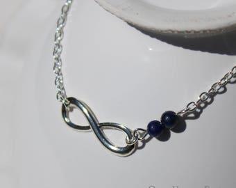 Bracelet Infini Lapis-Lazuli - Once Upon a Fantasy