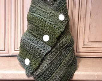 Hand knit cowl End of Season Sale