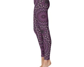 Fashion Leggings for Women - Printed Leggings, Yoga Pants, Festival Clothing