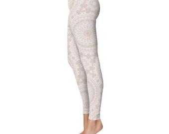 Leggings - Spring Leggings for Women, Pretty Printed Yoga Pants