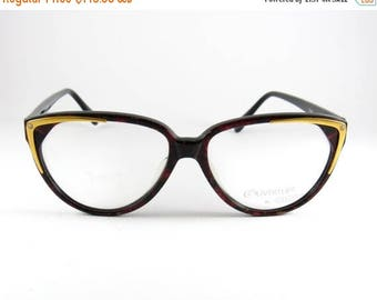Vintage Oversize Cat Eye 80s Eyeglasses made in Italy, Ouverture By Lastes Mod: Tania, Elegant Vintage CatEye Women's Sunglasses, NOS